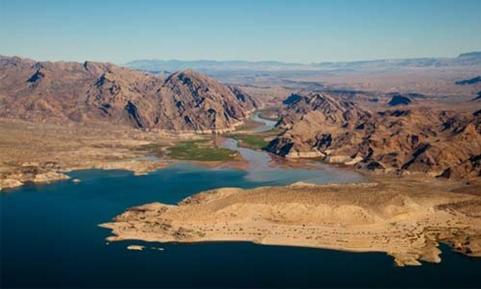 Lake Mead Hits Historic Low