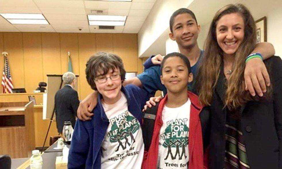 Groundbreaking Court Ruling Says State Must Address Climate Change, Thanks to Teen Lawsuit
