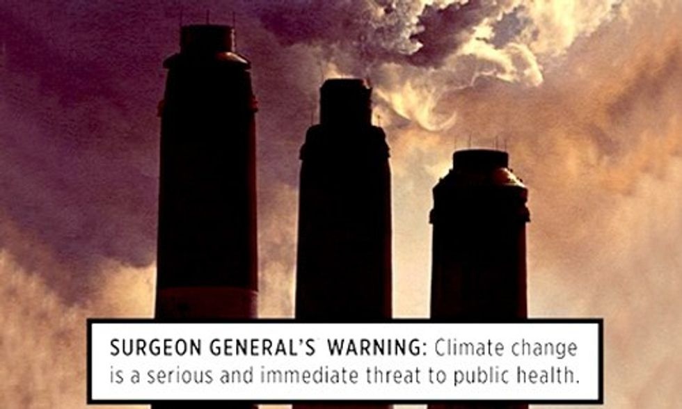Warning: Climate Change Is Hazardous to Your Health