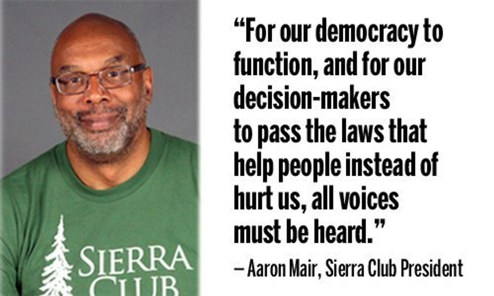 Sierra Club President: 'To Protect Our Environment and Our Communities, We Must Protect Our Democracy'