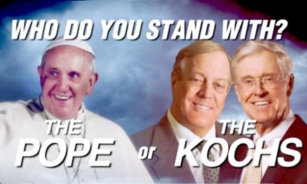 Pope or Kochs: Republicans, Who Do You Stand With?