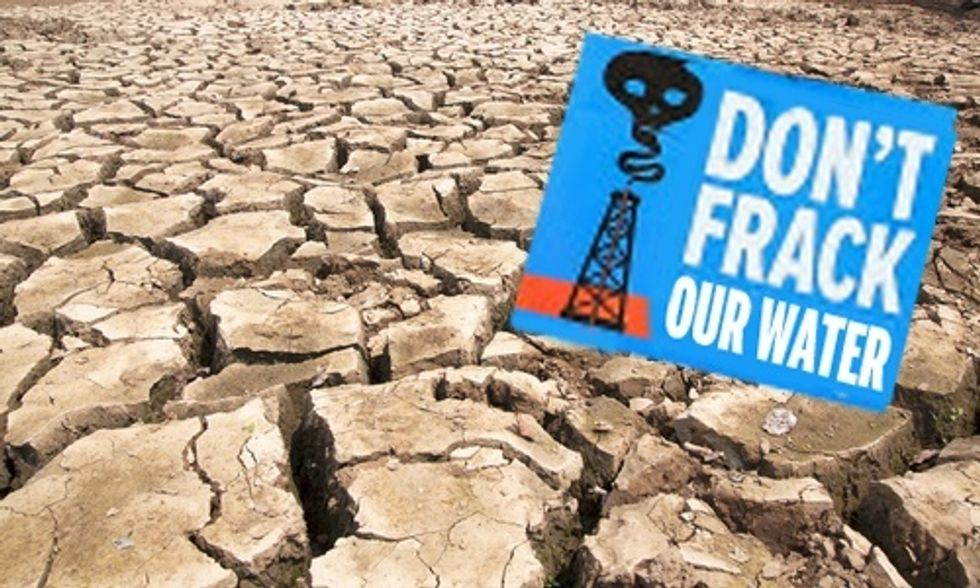 Water Use for Fracking Has Skyrocketed, Stressing Drought-Ridden States