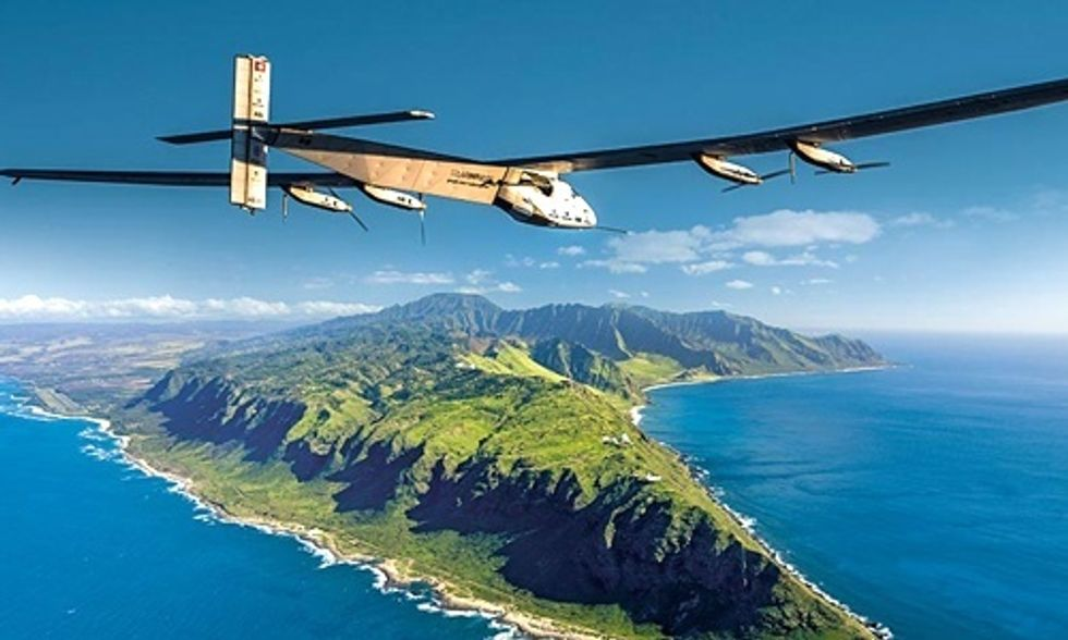 Record-Breaking Solar Flight Lands in Hawaii Demonstrating Potential of Carbon-Free Travel