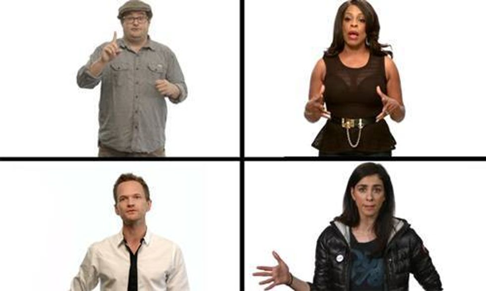 Neil Patrick Harris, Sarah Silverman, Ray Romano, Alicia Silverstone and More Say 'Keep It Clean'