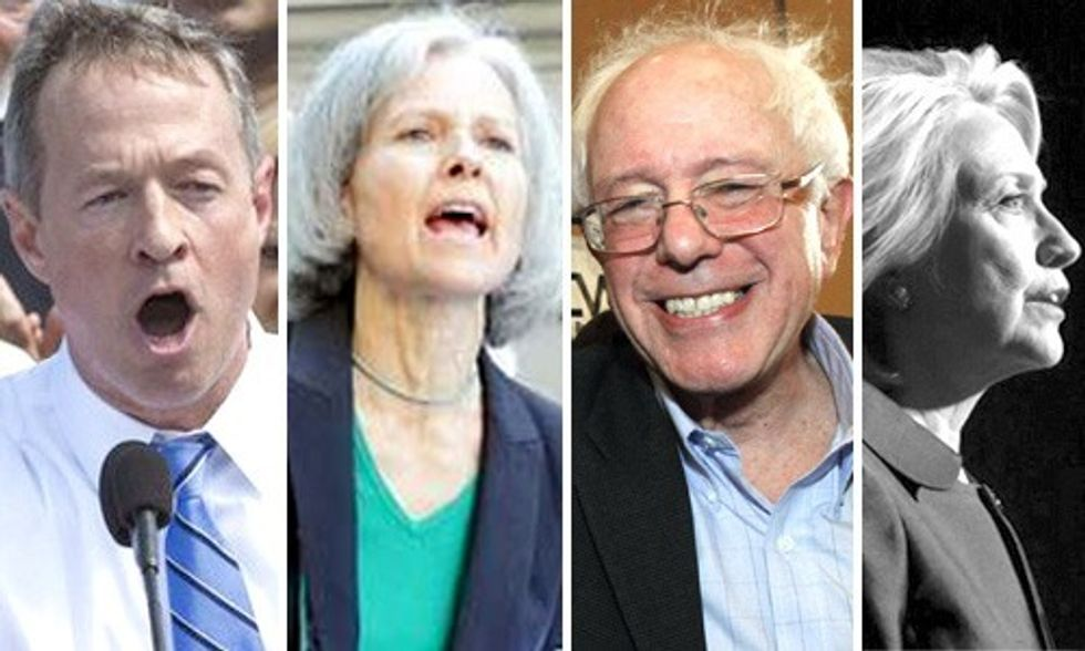 3 Presidential Candidates Say 'No' to Fossil Fuel Funding, Will Hillary Join Them?