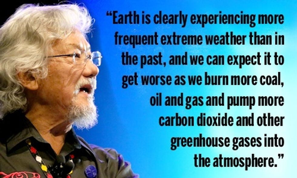 David Suzuki: The Realities of a Warming World