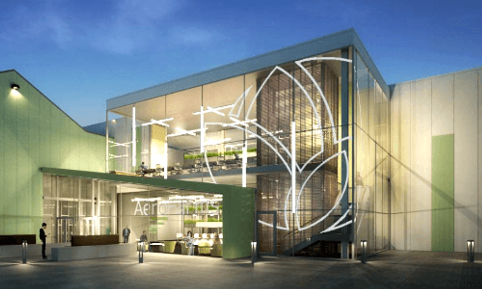 World's Largest Indoor Vertical Farm Breaks Ground in Newark, New Jersey