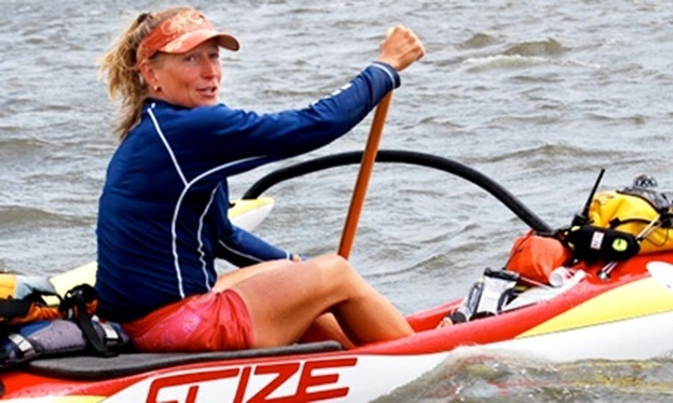 One Woman's 2,000 Mile Paddle From the Big Apple to the Big Easy