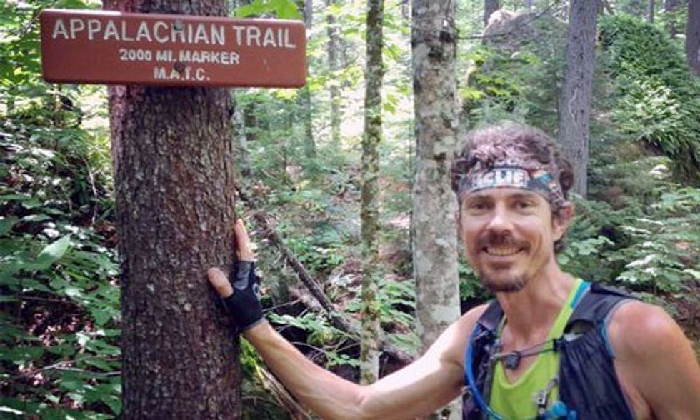 Vegan Ultramarathoner Breaks Record for Fastest Race Up Appalachian Trail