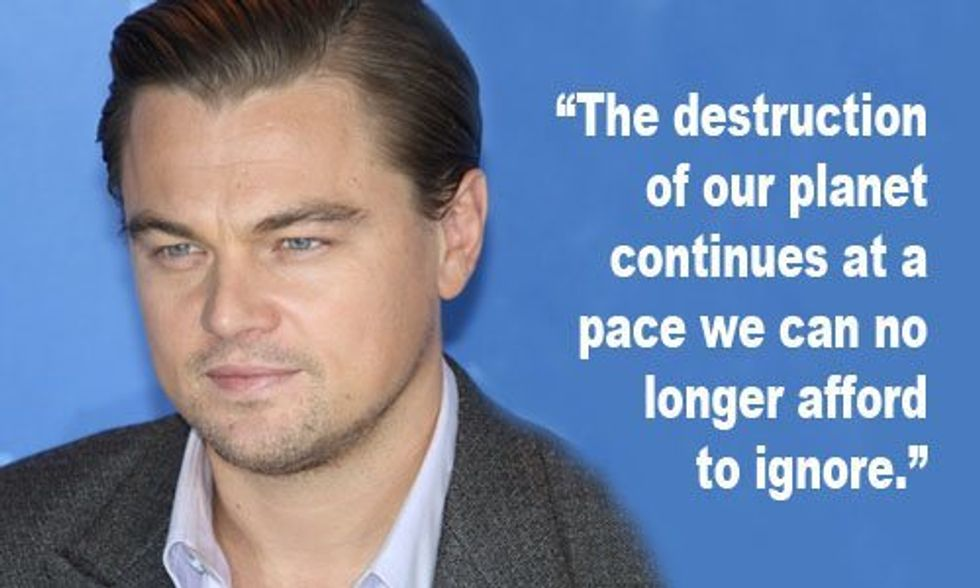 Leonardo DiCaprio Foundation Grants $15 Million to Environmental Organizations