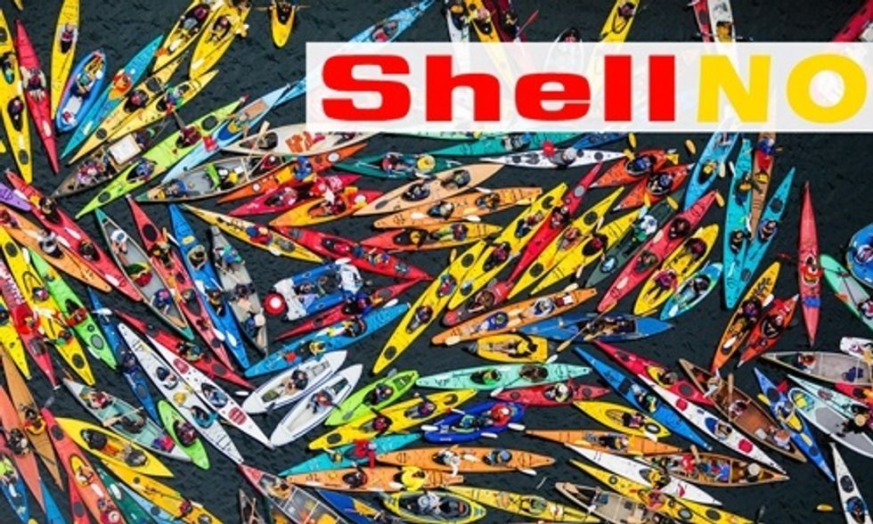 10 Awesome Tweets From #ShellNo to Arctic Drilling Day of Action