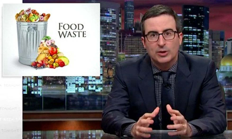 John Oliver Takes a Bite Out of Food Waste