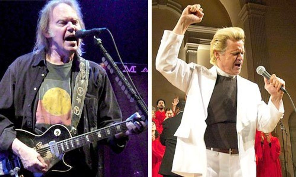 The Monsanto Years: Neil Young Plays Jones Beach, Rev. Billy Opens the Show
