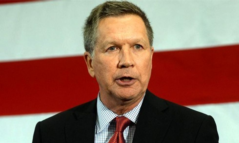 Yes, GOP Presidential Candidate John Kasich Believes in Climate Change, But...