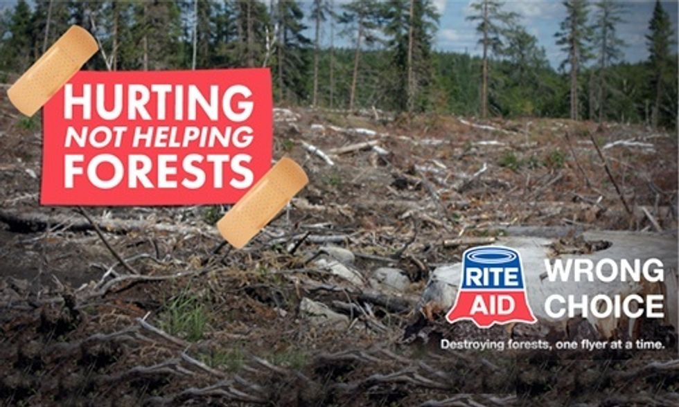 Rite Aid: Still Making the Wrong Choice for Forests
