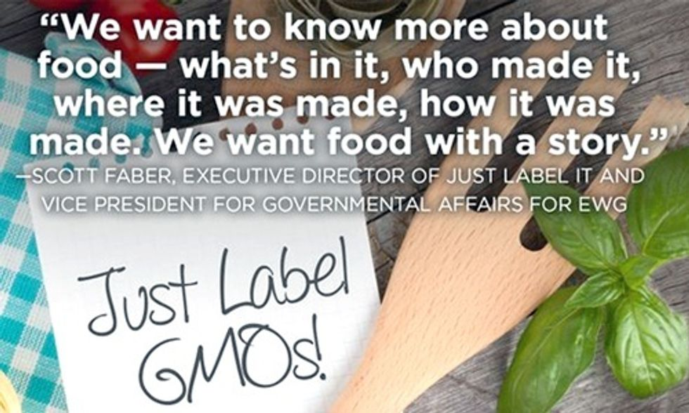 9 Out of 10 Americans Want GMO Labeling: Congress Should Vote 'No' on DARK Act