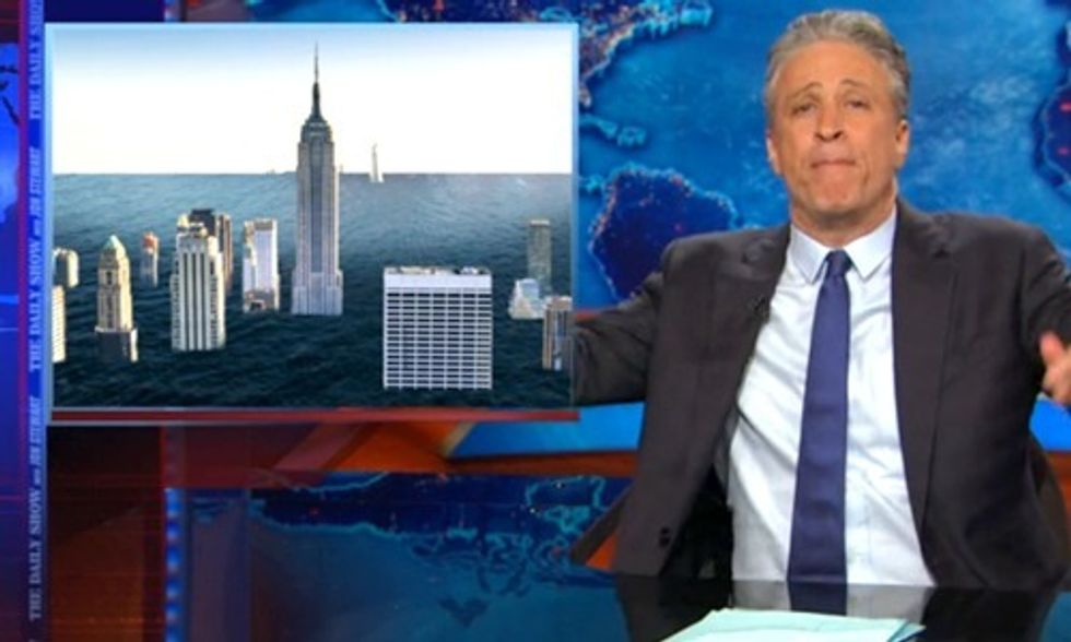 Jon Stewart: Iranian Nukes Not as Big a Threat as Climate Change