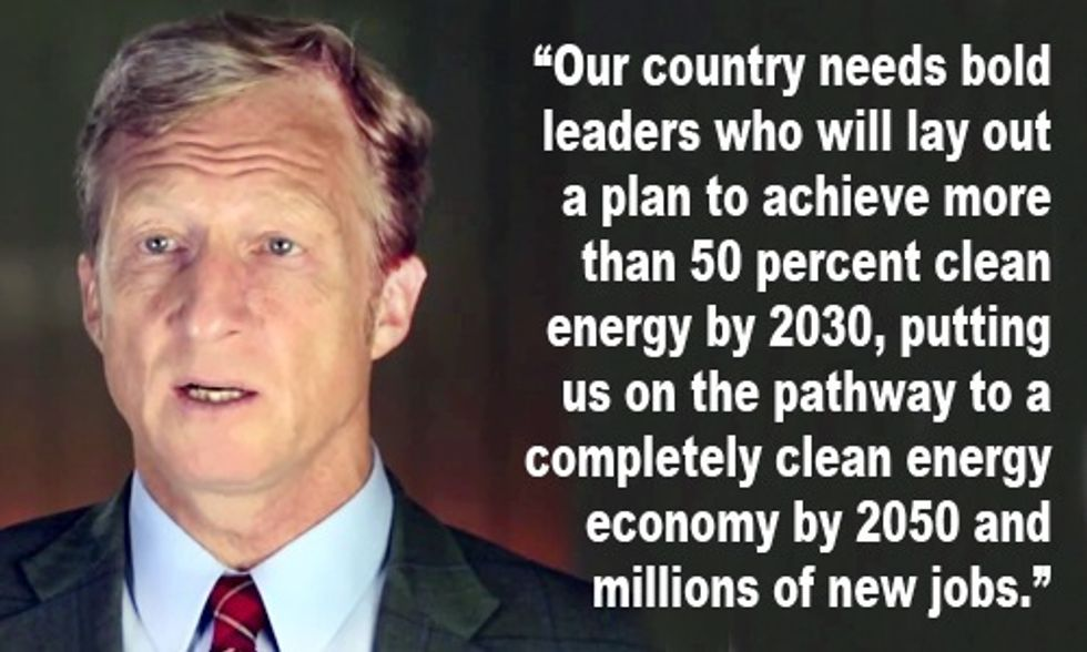 Tom Steyer: 50% Clean Energy by 2030