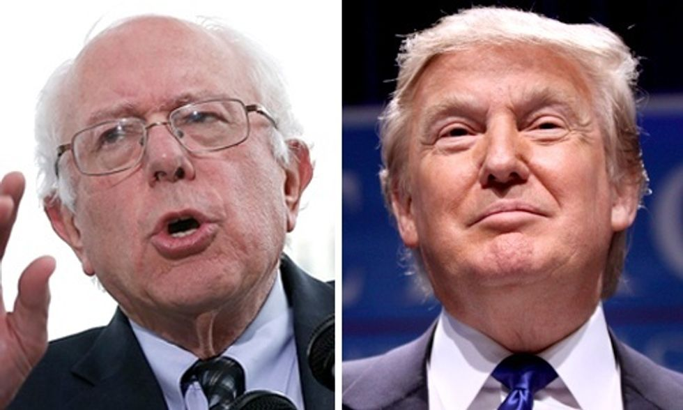 Inside Bernie Sanders and Donald Trump's Mass Appeal to Americans