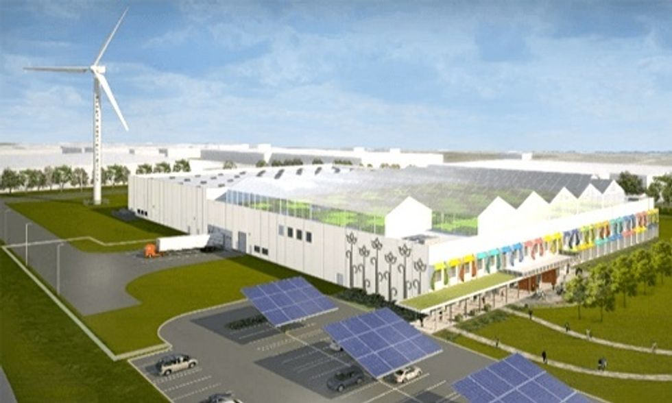 Gotham Greens + Method = World's Largest Rooftop Greenhouse Coming to Chicago