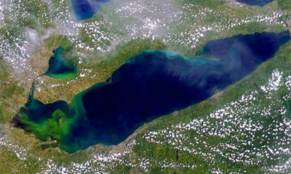 Should Lake Erie Be Seen as a Model for Resilience or a Toxic Algae Mess?