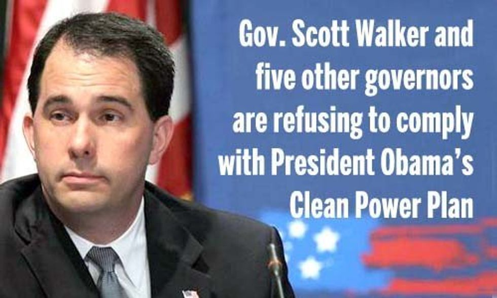 6 Governors Who Refuse to Comply With Obama's Clean Power Plan