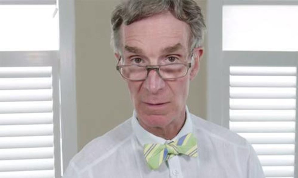 Bill Nye's 'Mean Tweets' Video Goes Viral