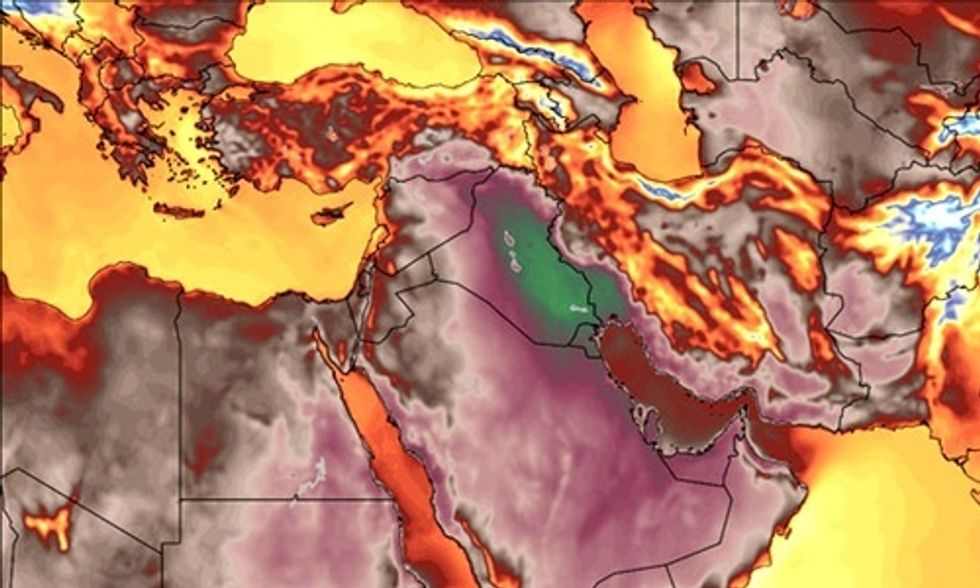 Heat Index in Iran Hits 164 Degrees: Among Hottest Urban Temperatures Ever Endured by Mankind