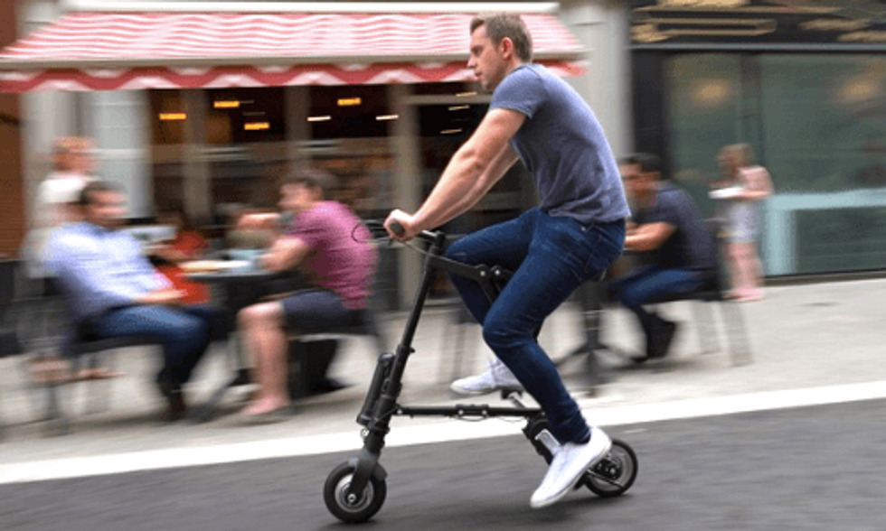 World's Lightest and Most Compact Electric Bike Can Fold Into a Backpack