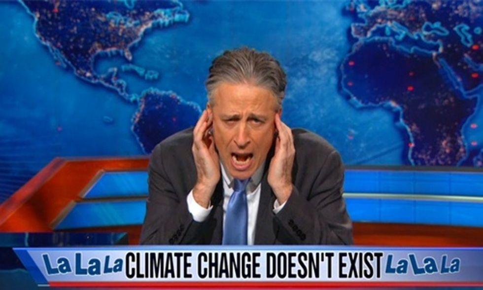 Jon Stewart's 5 Best Segments Bashing Climate Deniers