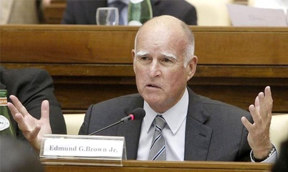 Gov. Brown Asks GOP Presidential Candidates: What Are You Going to Do About Climate Change?