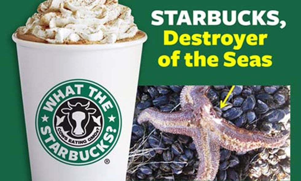 Starbucks, Destroyer of the Seas