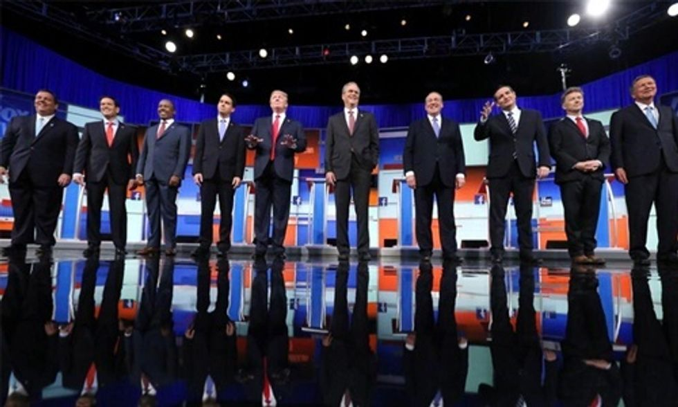 17 Funniest Tweets on GOP Debate Failing to Even Mention Climate Change