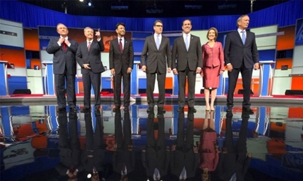 Lone Republican Takes Stand on Climate at GOP Debate, But Vows to Build Keystone XL If Elected
