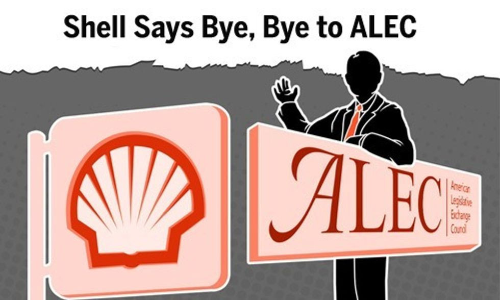 Shell Dumps ALEC as Oil Giant Prepares to Drill in Arctic