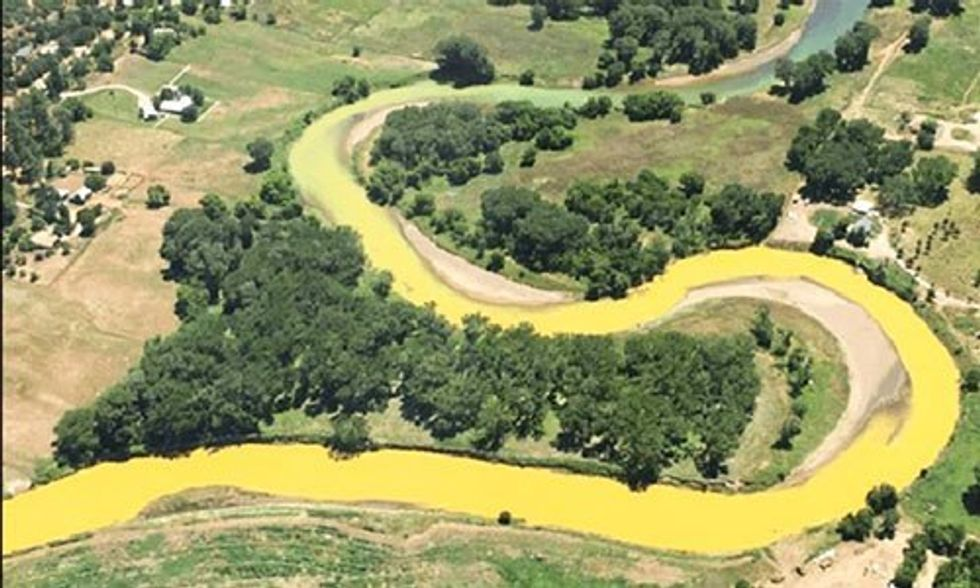 Massive Mine Waste Spill Reaches New Mexico