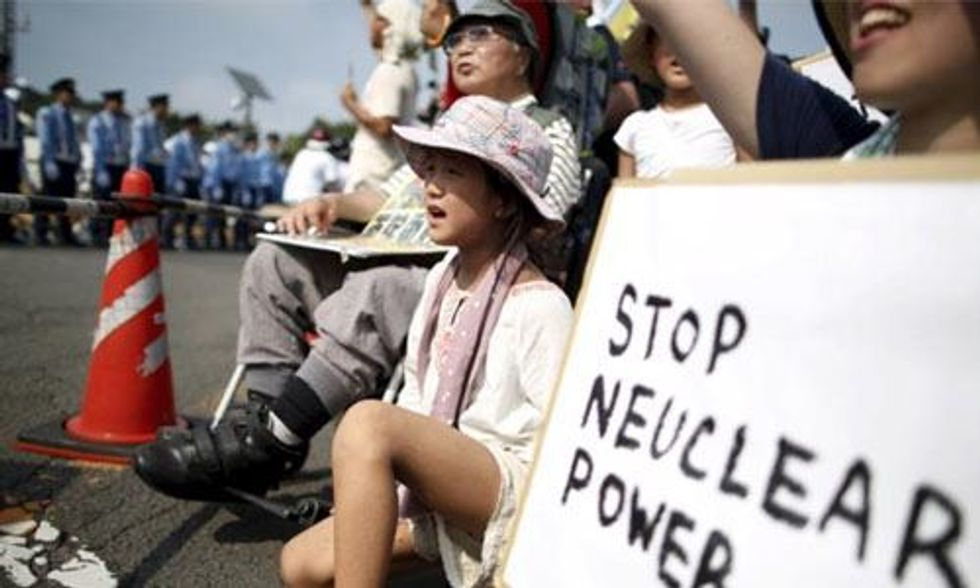 Japan Restarts First Nuclear Reactor Since Fukushima Disaster, Protests Erupt