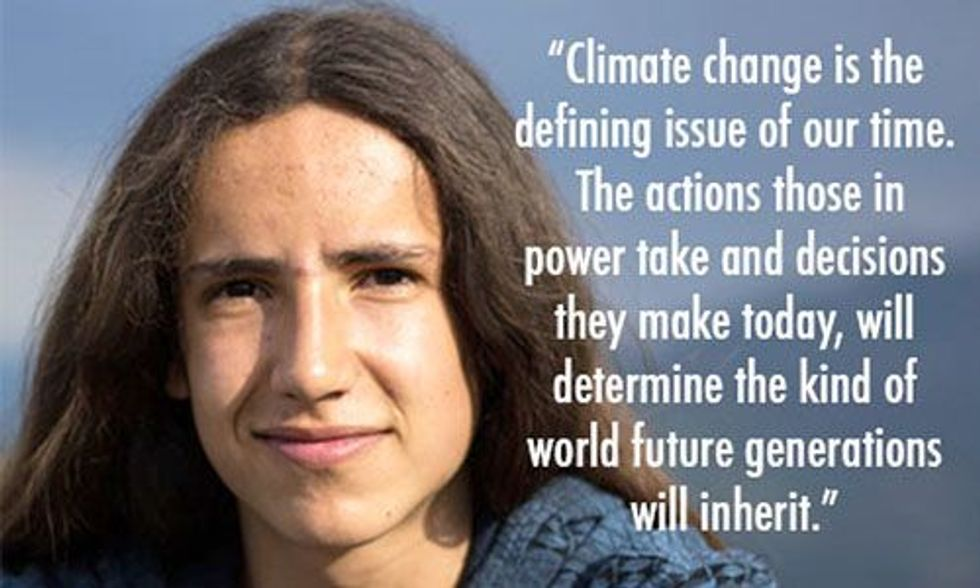 21 Youths File Landmark Climate Lawsuit Against Federal Government