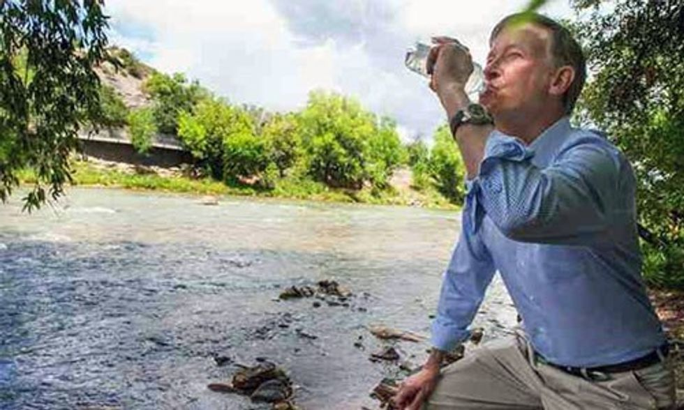 Colorado Governor Drinks Water From Animas River After Historic Mine Waste Spill