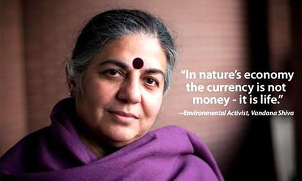 Vandana Shiva: There Is No Reason Why India Should Face Hunger and Farmers Should Commit Suicide