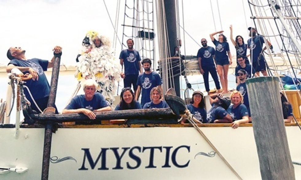 After Sailing 3,000 Miles ... It's Official Microplastics Are Everywhere