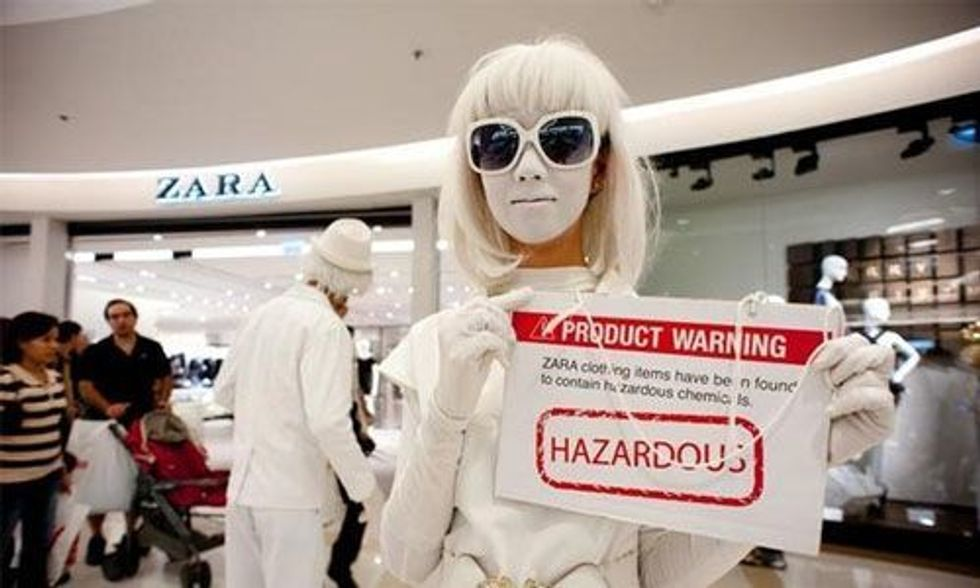 Fast Fashion Is the Second Dirtiest Industry in the World, Next to Big Oil