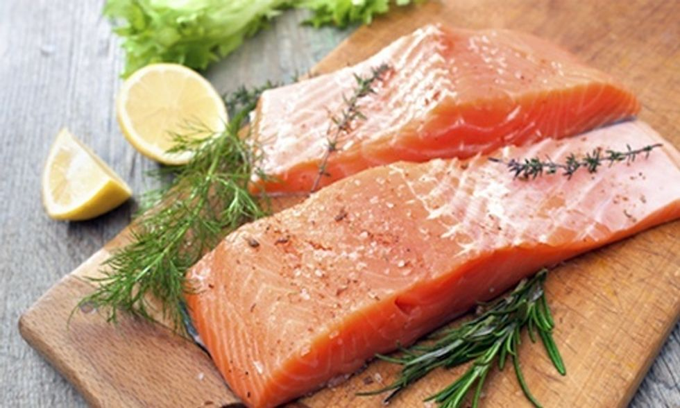 Are Microplastics in Your Salmon Filet?