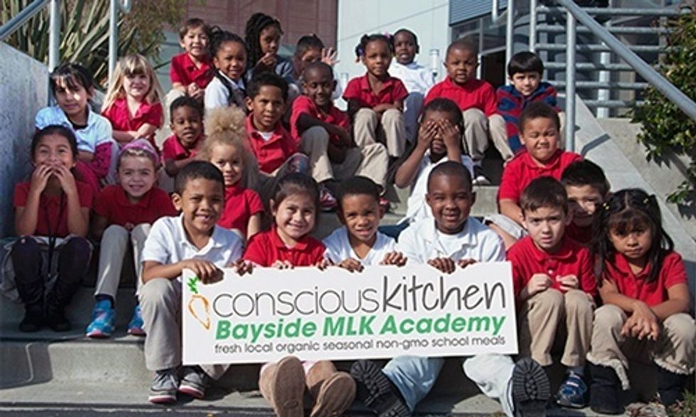 Nation's First School District to Serve 100% Organic, Non-GMO Meals