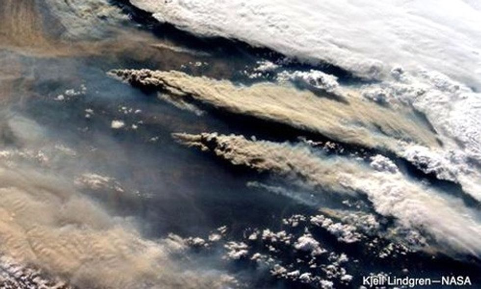 Check Out Astronaut's Epic Photo of Wildfires from Space