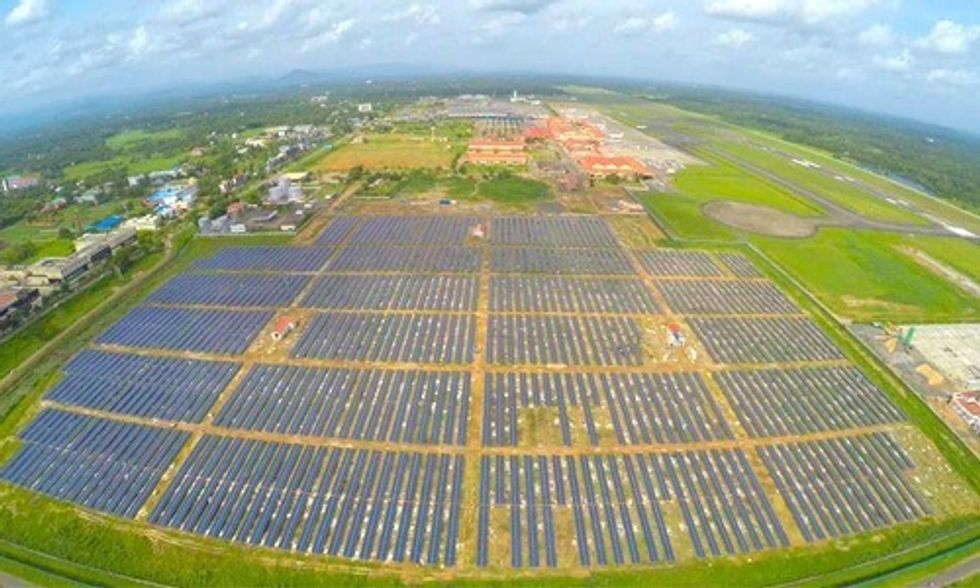 World's First Solar Powered Airport Has Arrived