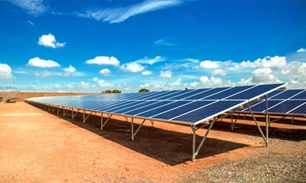 One of the World's Largest Solar Farms to Be Built in California Desert