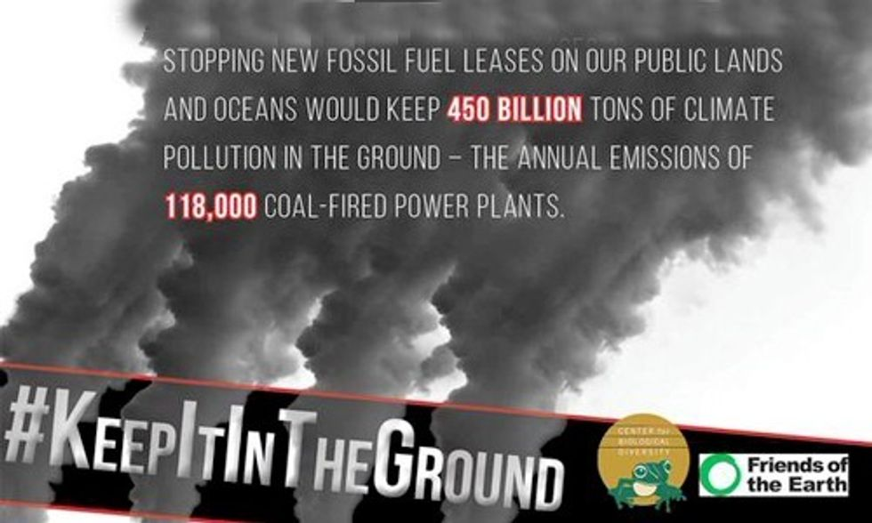 President Obama, Your Climate Legacy Lies with Keeping Fossil Fuels in the Ground
