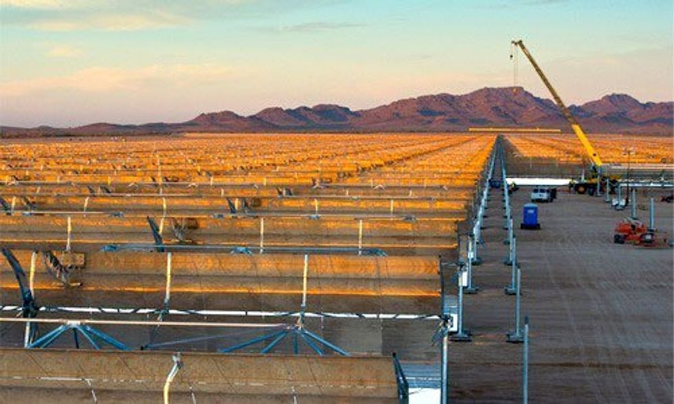 U.S. Navy Invests in World's Largest Solar Farm