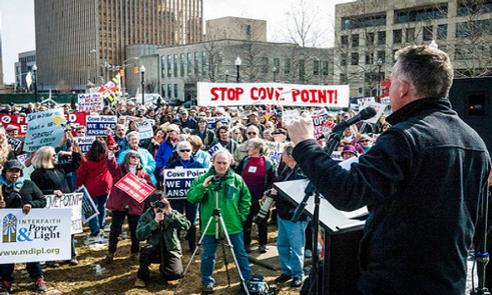Feds Approve Cove Point Fracked Gas Export Facility